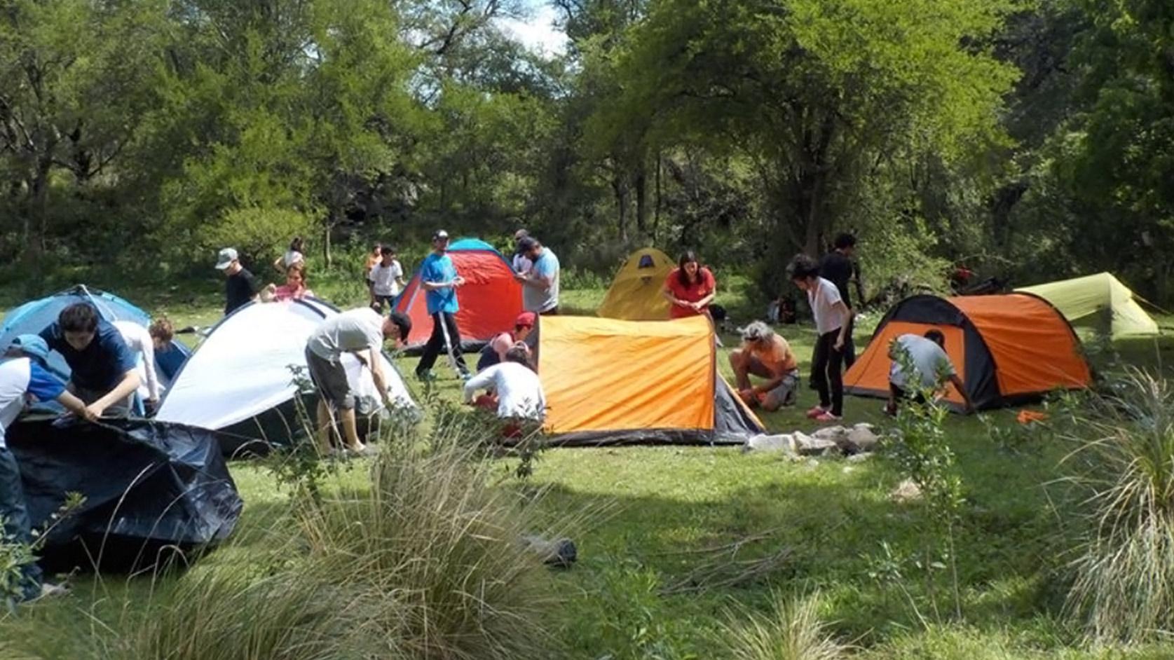 Refugio Serrano San Luis - Iniciación al aire libre