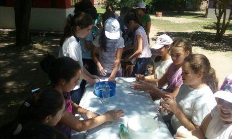 Campamento educativo en San Luis