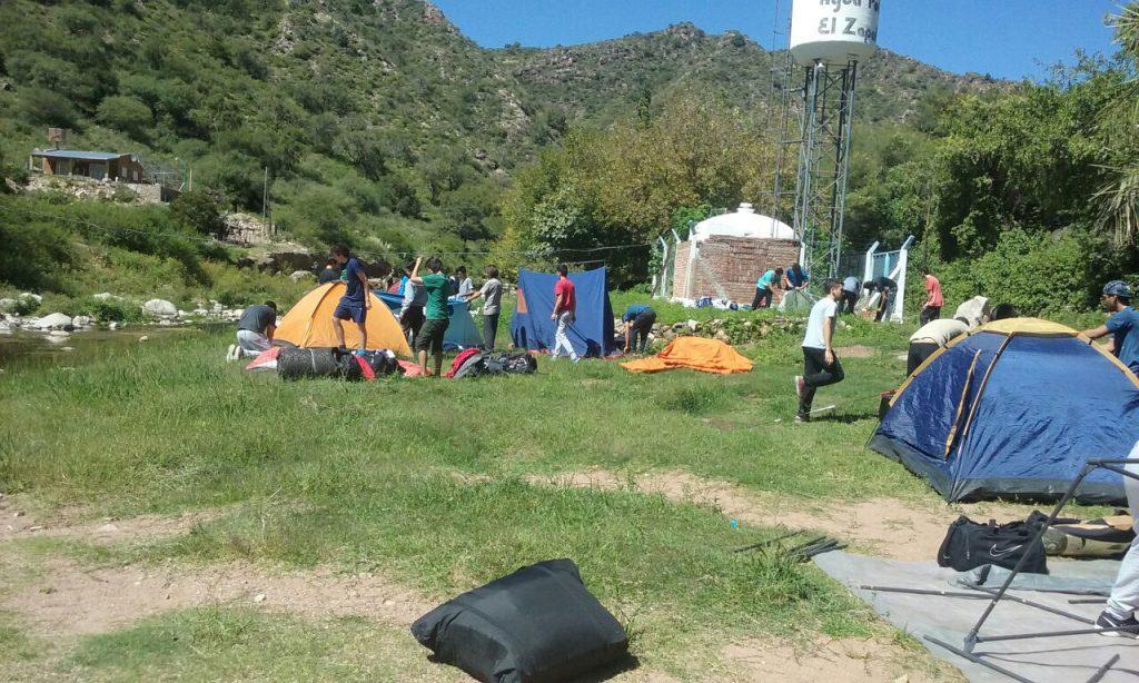 Campamento educativo Refugio Serrano