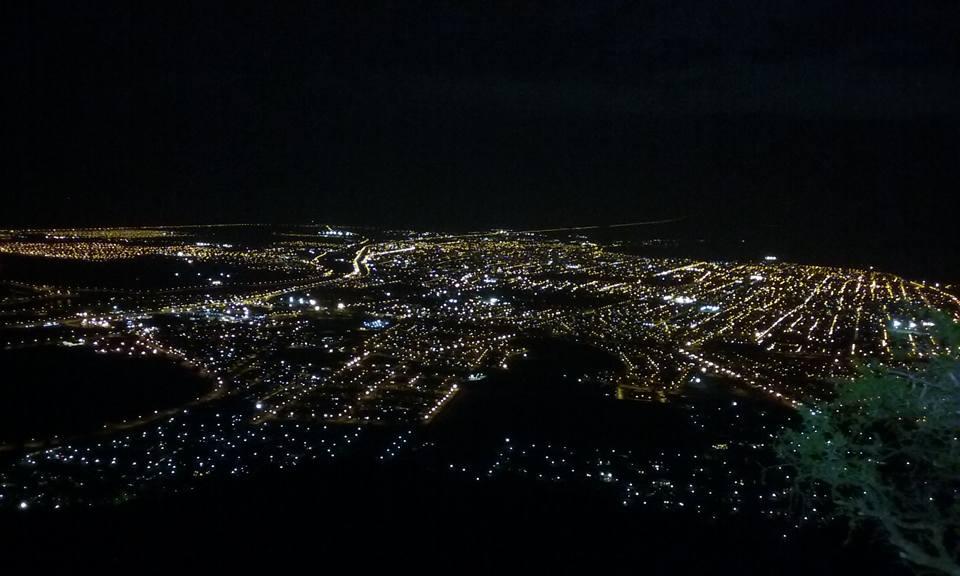 Trekking nocturno en el Cerro de la Cruz San Luis