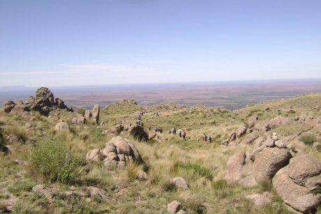 Trekking valle de piedra - Potrero de los Funes